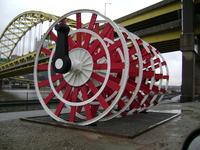 Riverboat wheel
