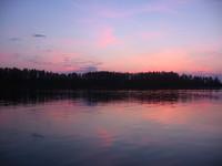 Sunset in Mazury