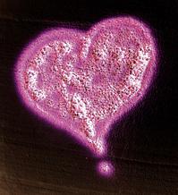 Airbrush Heart Inverted