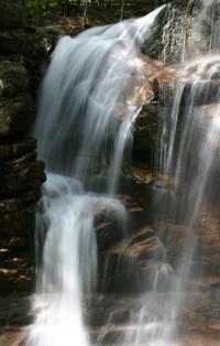 Franconia Flume Falls