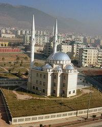 hazy mosque