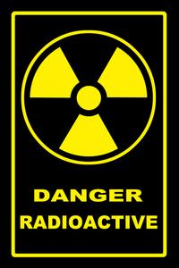 Danger radioactive 4