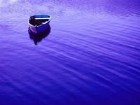 rockport blue boat