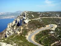 """road of the peaks"""" - La Ciota"""
