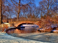 Winter park - HDR