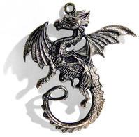 Dragon Knife Pendant