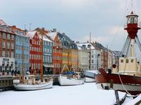 Nyhavn Harbour in Winter