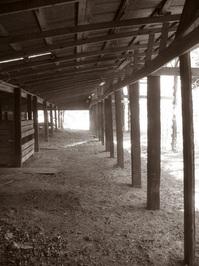 Rustic Barn Hallway