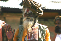 People in Nepal... Hindu serie