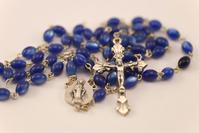 Blue rosary 1