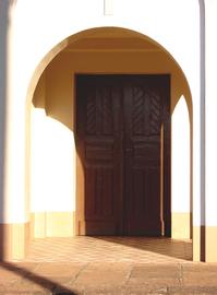 Door to pray