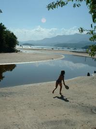 girl on the beach/Brazil