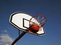 Shooting the basketball ball 1