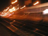 suburban train rails