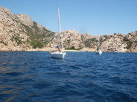 Sailing in Sardegna