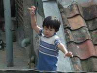 a super hero kid
