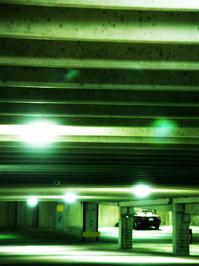 Subterranian,Parking,Parking,Garage,Garage,Light,Green
