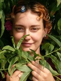 Girl & Leaves