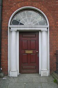 The Brown Door