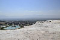 Pamukkale views in Turkey