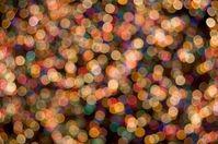 Rockefeller Tree Lights Bokeh