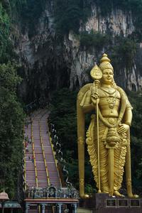 Batu Caves Entrance, Kuala Lumpur