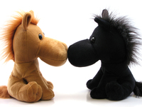 Kissing Horses 1
