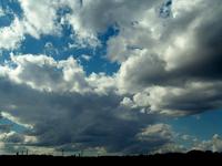 cloud, sundown