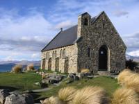 Windy church