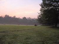 Sunrise Hayfield