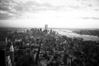 Twin Tower Skyline New York