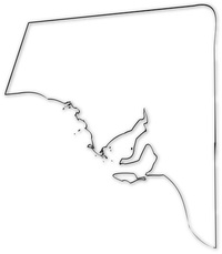 South Australian Map