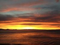 Sunset over Lake Taupo, New Zealand 2