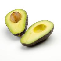 Isolated avocado