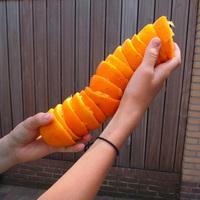A lot of oranges