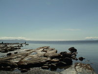 Beach Hornby Island, BC