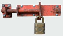 Padlock and lock