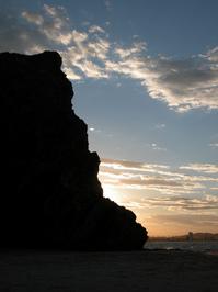 Big Rock into Sunset