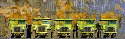 Mining Trucks Panaorama 2