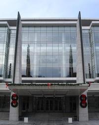 Washington Convention Center w/holiday decorations