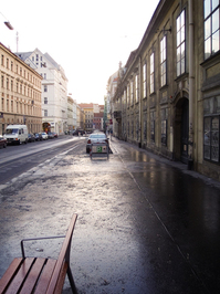Early Morning in Vienna
