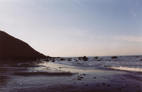 Sunrise over Muir Beach, CA