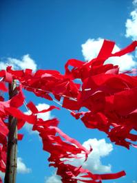 ribbon for a HIV AIDS Victim