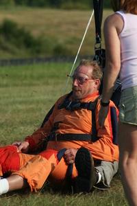 Tandem Skydive Landing 4
