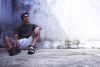 Alone boy