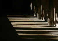 sunlight church window