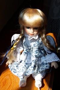 Ceramic doll