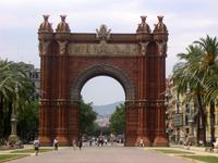 Barcelona's Arc de Triunfo