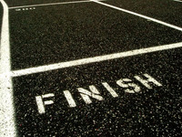 Track Finish