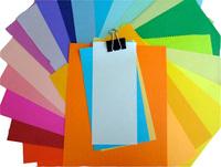On Multi Color Paper
